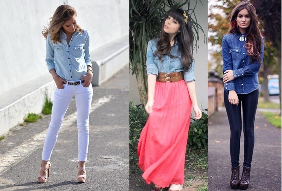 b3b94518023aa 133. Antes de montar seu look com a camisa jeans ...
