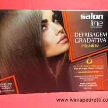 Produtos Salon Line para cabelos.
