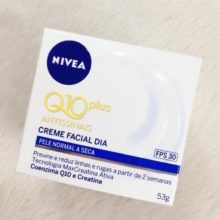Creme Nivea Q10 plus antissinais